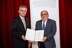 Preisträger Prof. Dr. Stuart H. Orkin und Prof. Dr. Gerd Walz
