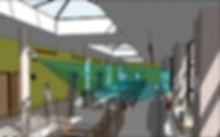3D camera view image