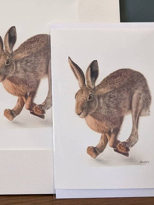 First Catch your Hare! Greeting Card