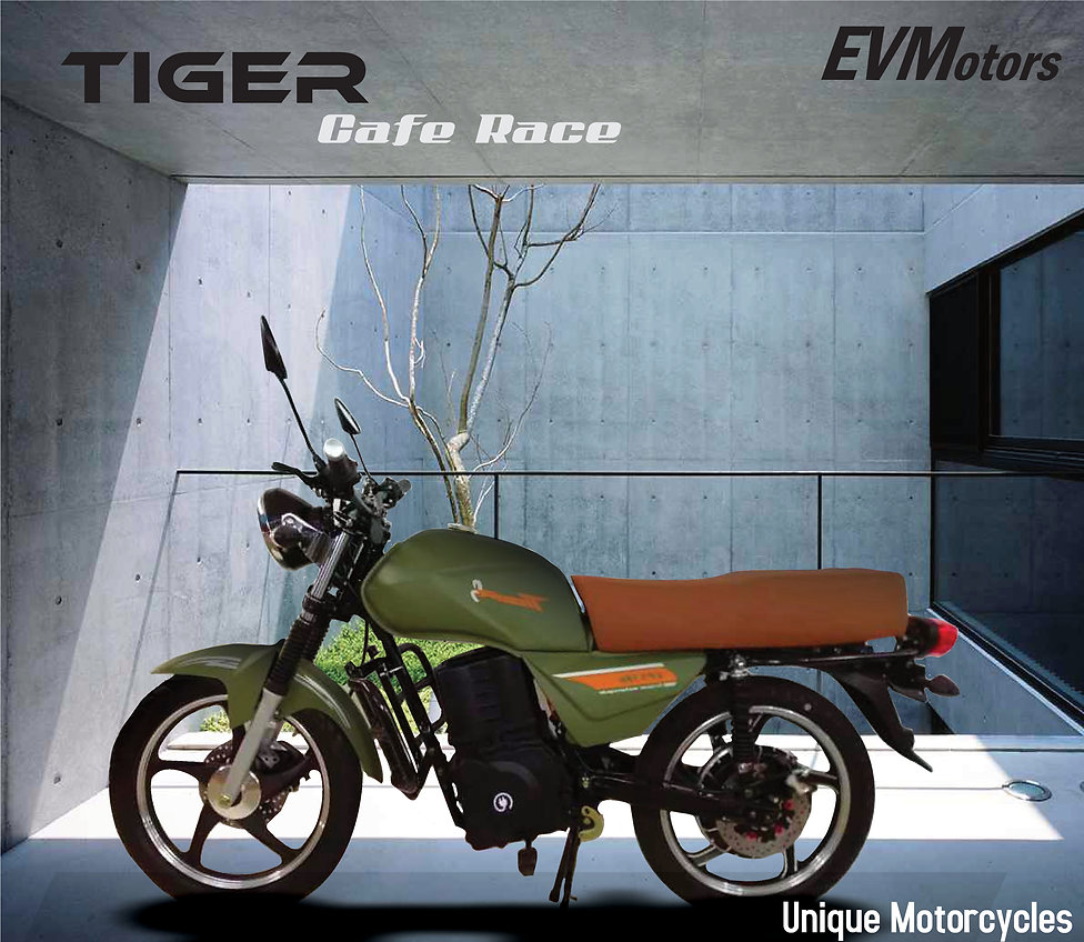 05 MOTOCICLETA ELECTRICA TIGER CAFE RACE