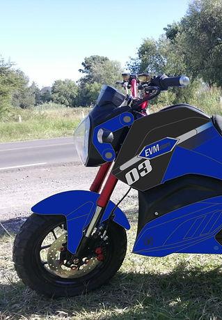 Motocicleta Electrica EVMotors Combat pe