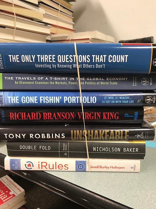 Business, economy, Tony Robbins Richard Branson