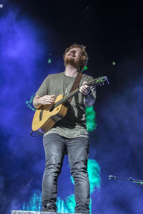 Ed Sheeran 紅髮艾德