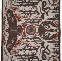 Indigofera-Wool-Blanket-Coyote-Thunder-Blanket-Eye-of-The-Forest