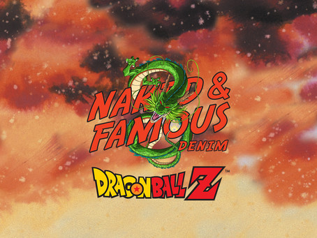 Naked and Famous x DBZ 七龍珠Z聯名牛仔褲