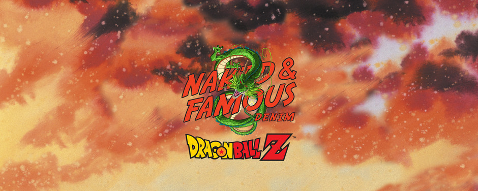 Naked and Famous x DBZ 七龍珠Z聯名牛仔褲 (照片更新)