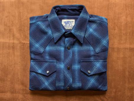 INDIGOFERA - Dawson 四色藍染赤耳格紋襯衫