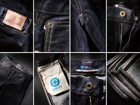 Japan Blue Jeans 十周年拼接紀念款