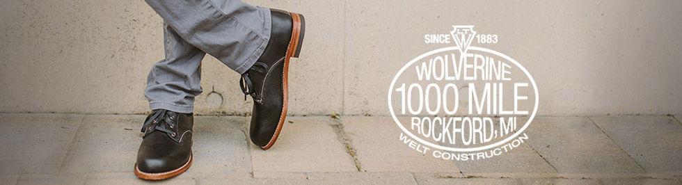wolverine 靴子