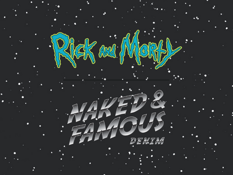 Naked & Famous x 瑞克和莫蒂 聯名款