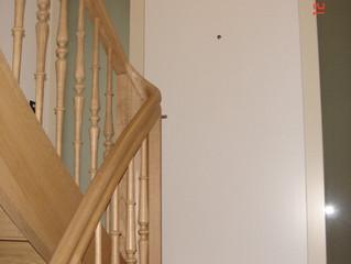 Gelungene Renovation von einem Treppenhaus....