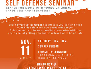 Mama Bear Self Defense Seminar - Nov 11