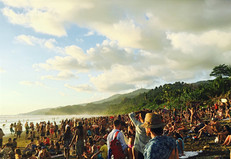 'We are all cells in the same body of humanity'  Envision Festival, Costa Rica