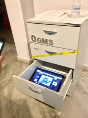 Participation in the group exhibition 'Others' at Ogms, invited by The Fridge contemporary art space, and took place at City Art Gallery, Sofia, Bulgaria (2018). 'My drawer' presents theoretical ideas about the digital interactive project, The Modular Body (2016), by the Dutch visual artist and filmmaker Floris Kaayk, established in my paper about this work. The Modular Body is an online science fiction storytelling project that shares the story of Oscar – a modular lifeform created from 3D printed organs of human cells and an electric brain. In redesigning the human body into an open modular system, the artwork's narrative addresses issues such as those of biotechnological development and the impact it has on human life.