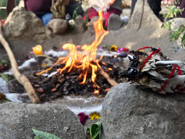 Fire allows  rapid transformation in  shifting our energy  and spiritual awakening,  a recognition  of old patterns and belief structures,  and their release.   San Marcos La Laguna, Lake Atitlan, Guatemala