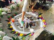 Spring Equinox  Mayan Ceremony  San Marcos La Laguna, Lake Atitlan, Guatemala