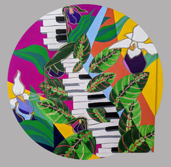 PianoPeacePlant - sold