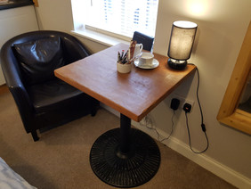 Dining area / work space