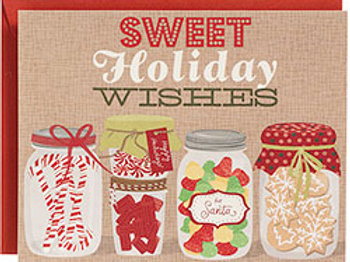 8 pack Holiday Sweets Holiday Greeting Card