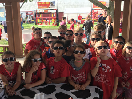 Great Weather for Dairy Day at Clay County Fair
