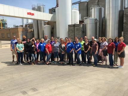 Local Teachers attend Professional Development Workshop about Agriculture.