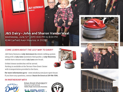 12th Annual National Dairy Month Open House