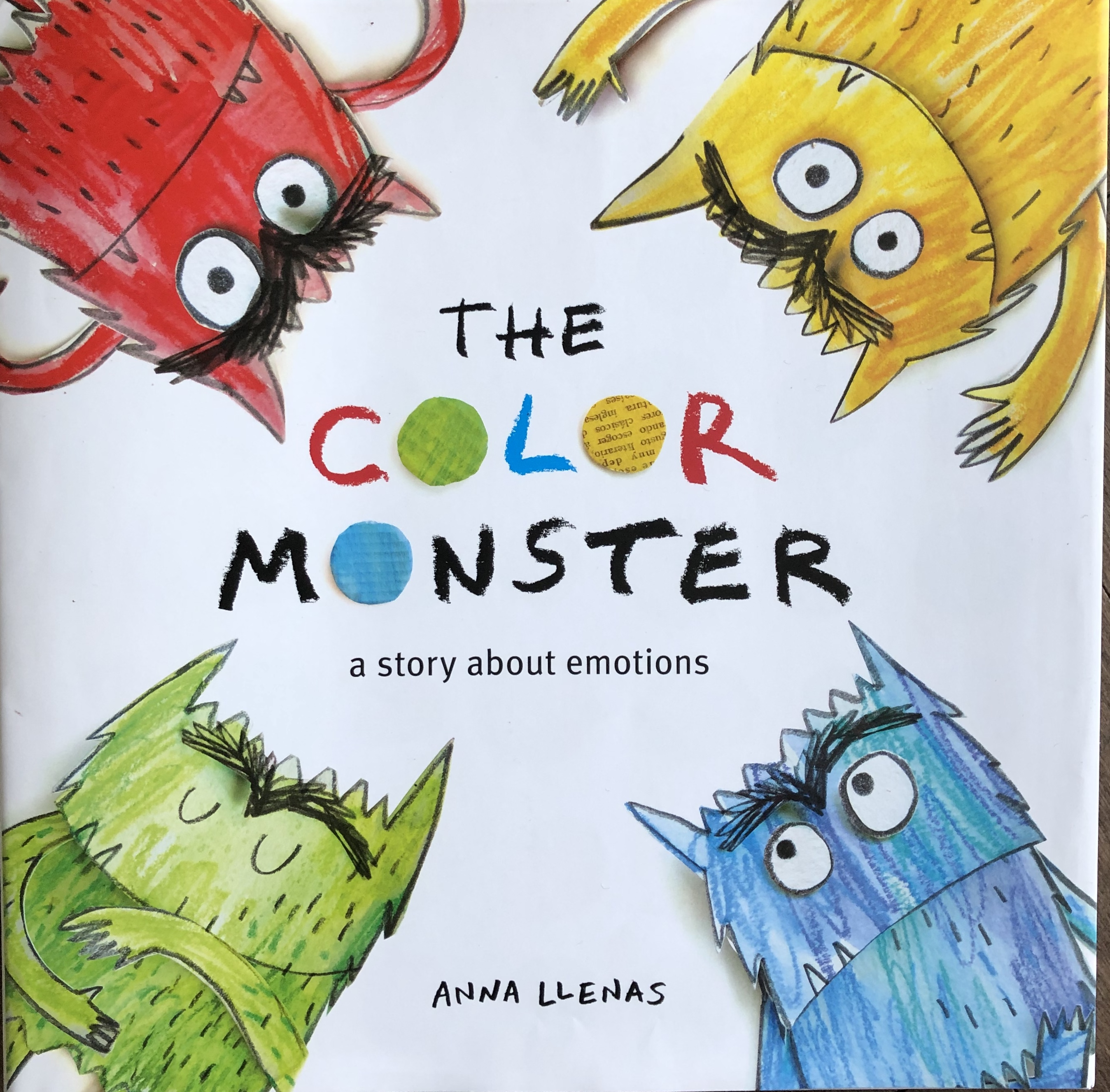 The Color Monster, by Anna Llemas