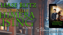 Release Blitz of The Traveler: Chimera Rising