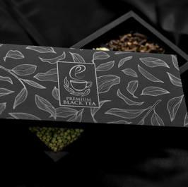 Black Tea Luxury Rigid Box