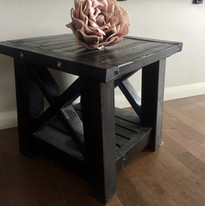 Handmade and stained little side table