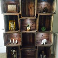 Gorgeous hand made/custom bookshelf unit