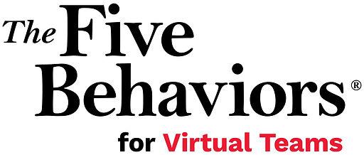 The Five Behaviors for Virtual Teams Log