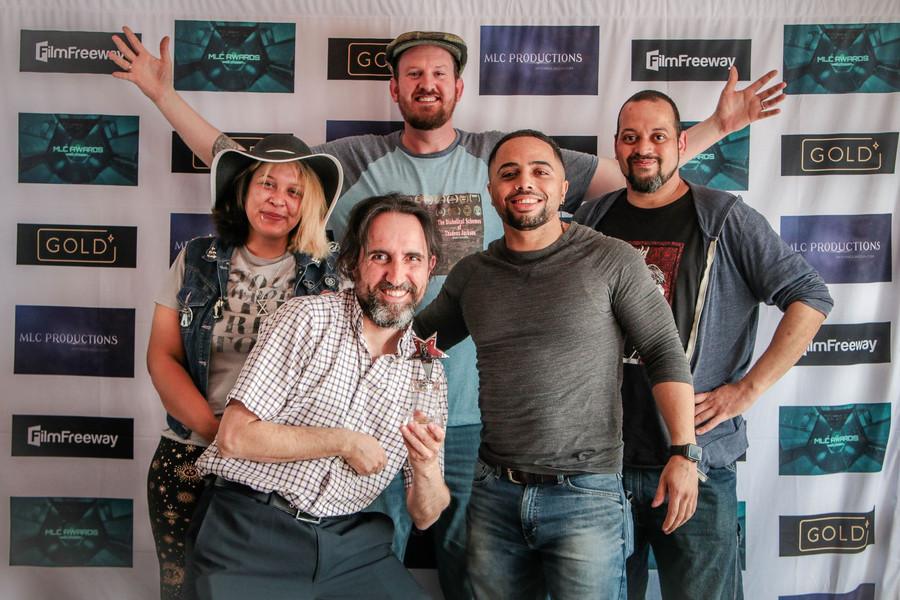 BOC Gala Emcee, Freddy Moyano, posing