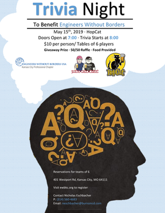 EWB-KC Trivia Night Fundraising Event