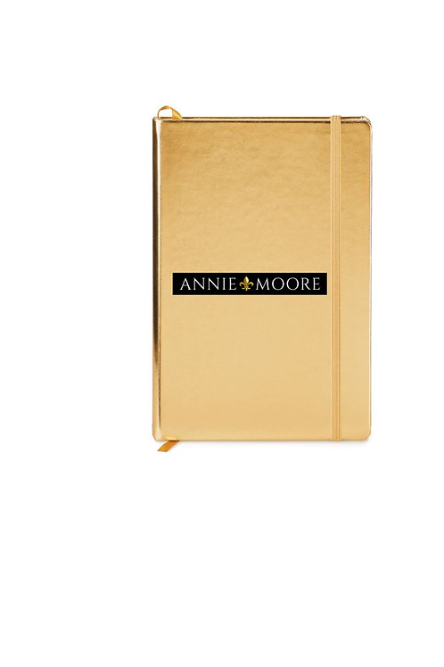 GOLDEN NOTEBOOK by ANNIE MOORE