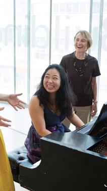 Annie Moore Schumann at Juilliard