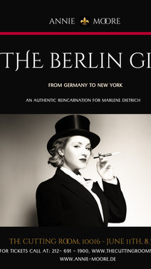 THE BERLIN GIRL - ANNIE MOORE