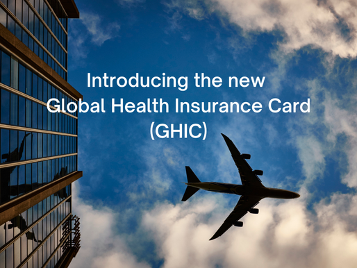 Introducing the new Global Health Insurance Card (GHIC)