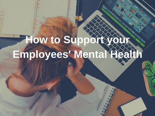 How to Support your Employees' Mental Health