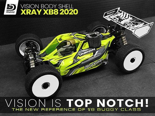 Carrosserie Bittydesign Vision Xray XB8 thermique
