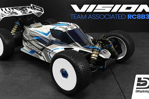 Carrosserie Bittydesign Vision Team asso RC8B3.E