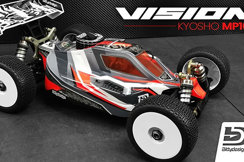 Carrosserie Bittydesign vision KYOSHO MP10
