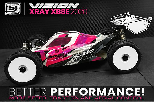 Carrosserie Bittydesign Vision Xray XB8 BL