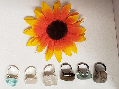 Empress Crystal Rings (Sold Individually)