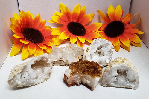 Raw Citrine Cluster Crystal (Sold Individually)