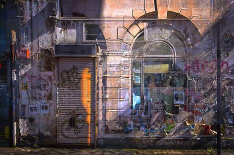 H&C with graffiti
