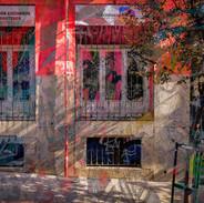 Afternoon shadows, Madrid IV