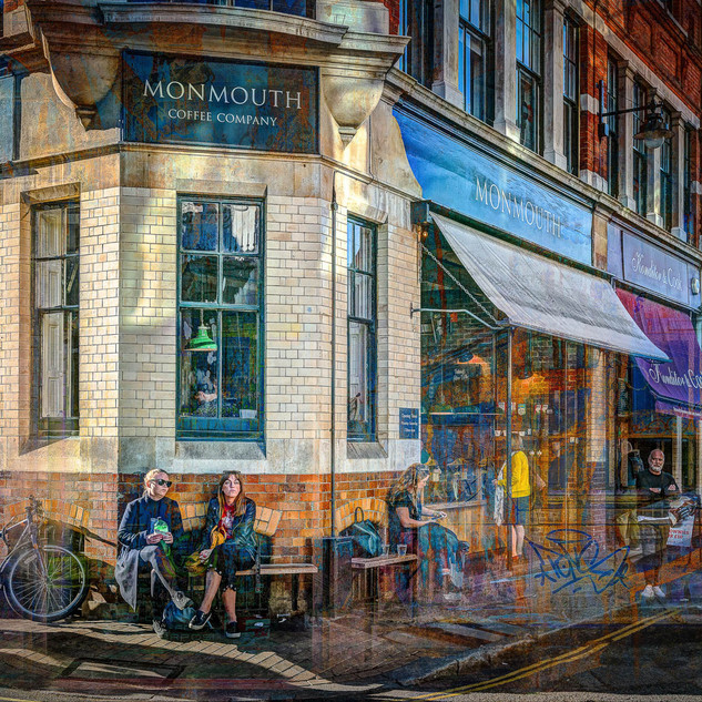 Borough Market-Park St. Monmouth cafe