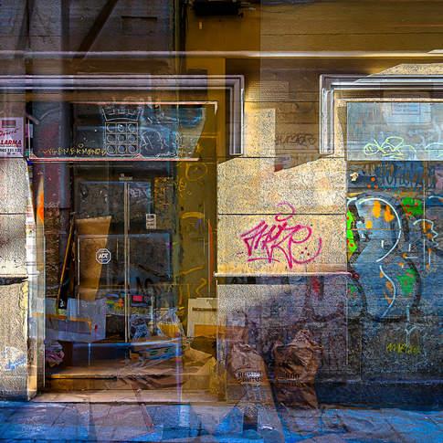 Graffiti shadows
