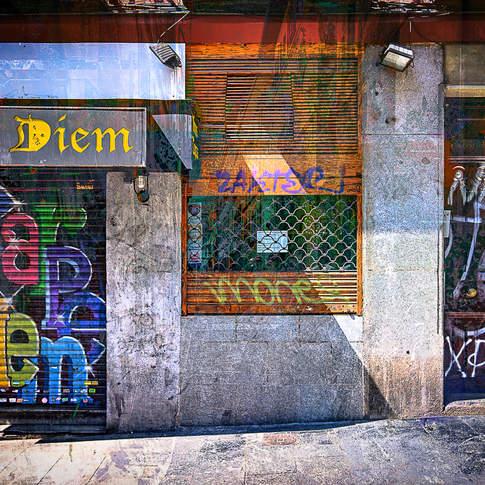 Carpe Diem bar, Madrid